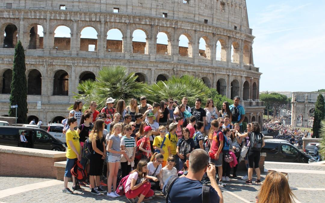 Ekskurzija v Rim 2016