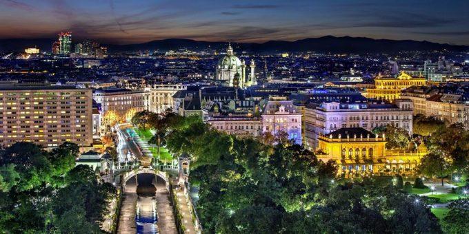 Dunaj z nemščino